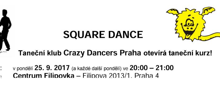 Skupina Crazy Dancers přijímá nové členy!